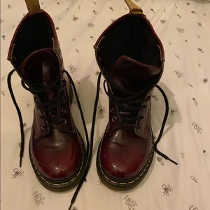 Barely worn doc martens bought brand new